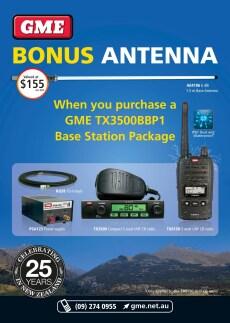 GME BASE STATION TX3500 UHF 80 Channel CB Radio