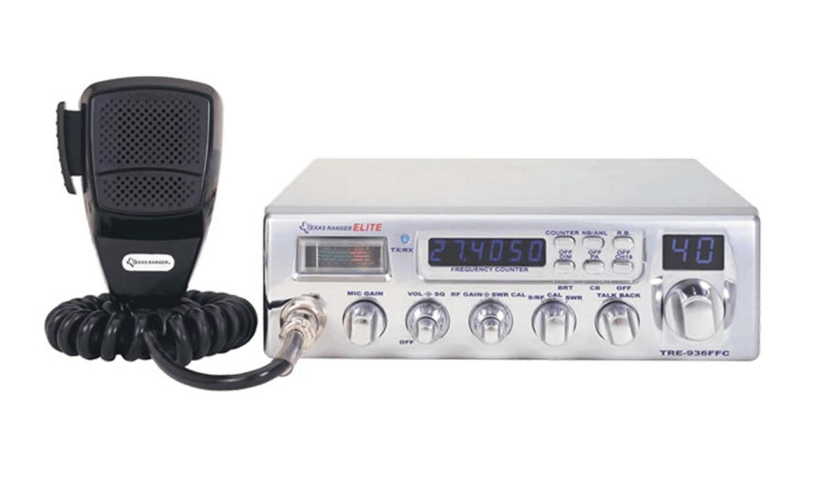 Texas Ranger TRE-936FFC 40 Channel AM CB Radio | Texas Ranger