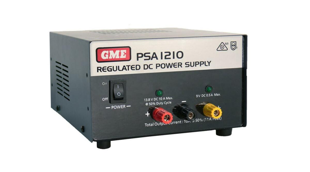 Gme 11 Amp Regulated Power Supply Portable Radios Batteries Increasing Amps Fuse Box