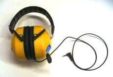 Grade 5 Radio Ear-muff 2.5mm pin