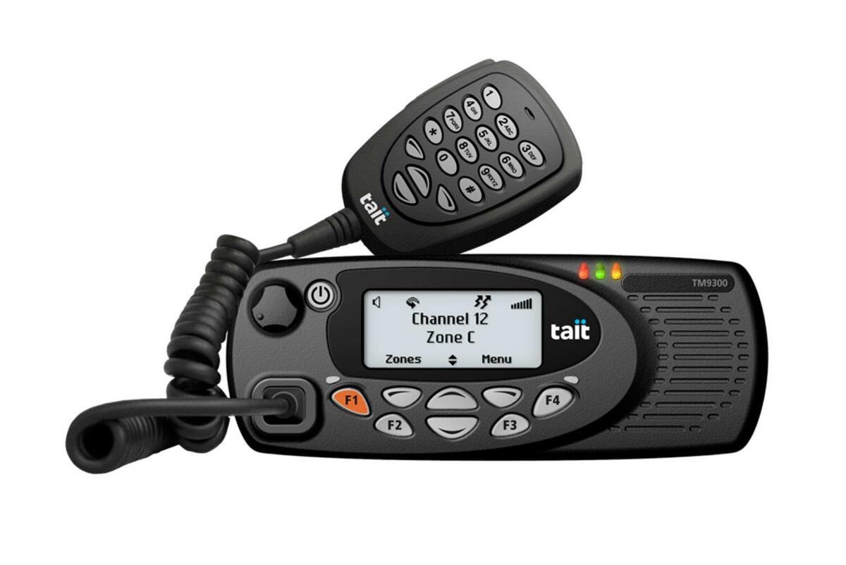 Tait TM9355 DMR Mobile Radio   Tait Mobile Radios   Tait