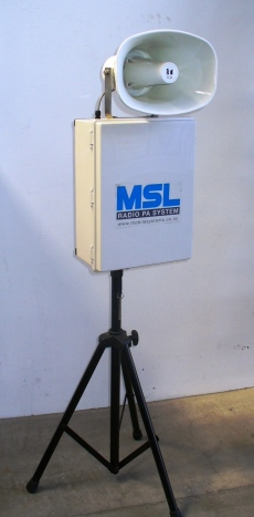 Mobile Systems Portable Radio PA System