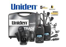 Uniden UH850S UHF 80 Channel Waterproof Portable Radio - Tradies Pack