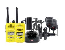 GME TX6160YTP Comms Kit Twin Pack - Yellow