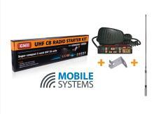 GME TX3100 UHF 80 Channel CB Radio with Hi-Gain Antenna & Bracket
