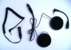 Helmet Stereo Headset